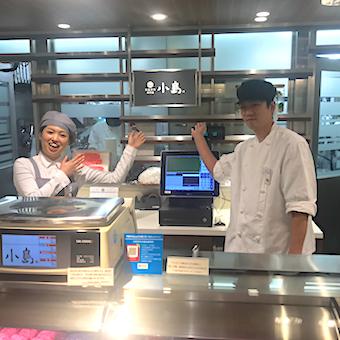 日本初!新宿伊勢丹の高級仔牛専門店で販売◎お客様とコミュニーケーションを取りながら働く!