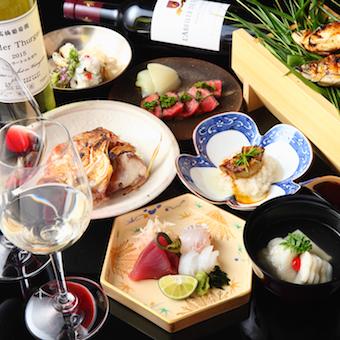 季節を感じる本格和食とワインのペアリングも学べるキッチン◎万全のソムリエ資格取得サポートあり!