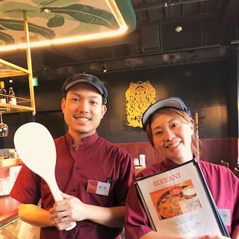 渋谷駅のシックなインドレストランでキッチン♪南インドカレーやスパイスを学べます!