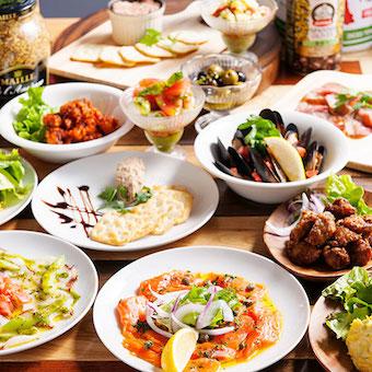 【未経験OK】芝浦ベイエリアのレストラン&バーでキッチンスタッフ☆包丁の使い方から教えてもらえます♪