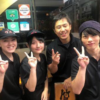 歌舞伎町のオシャレな拉麺ダイニング☆個室有で、逸品料理も本格派の人気店でホールスタッフ募集中♪