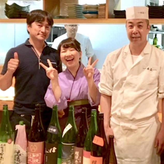 アットホームな空間で本物の料理と日本酒を提供。おちゃめプロ集団がもてなします!
