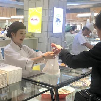 品川エキュート内◎老舗肉卸が作る最高級の肉弁当の販売!