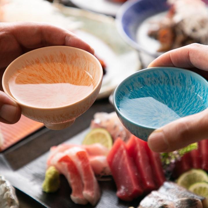自家製出汁にこだわる和食メインの銀座の隠れ家で接客のお仕事。なんと全メニュー試食・試飲可!