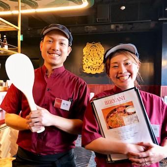 本場料理を学べる環境ですが、スタッフは日本人だから言葉の壁も少なくて安心♪