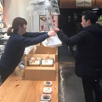 駅近のオシャレなオフィス街☆とんかつがメインのお弁当販売♪まかないは持ち帰りもOK!
