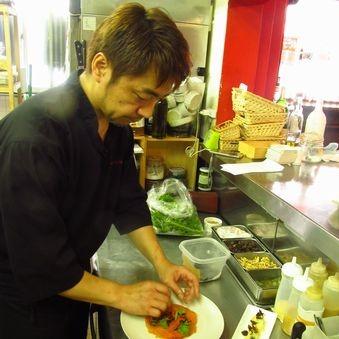 【時給1200円】ワインを知り尽くした骨太なビストロ料理を学ぼう♪未経験歓迎!≪水曜定休≫