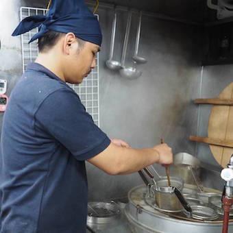 ★2020年11月リニューアルオープン★塩とんこつから煮干し系中華そばに!人気ラーメン店の味を学ぶ!