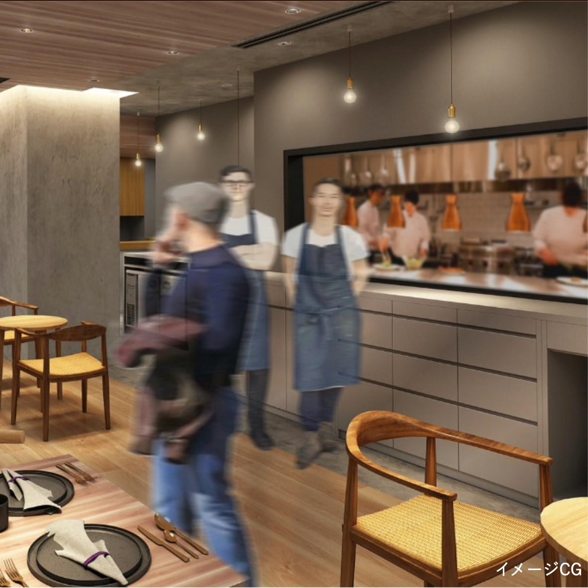 2021年2月本格オープン♪東北食材を使った料理、東北地方をコンセプトのダイニングカフェで接客☆