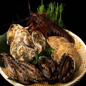 産地直送の海鮮を使った創作料理をご提供