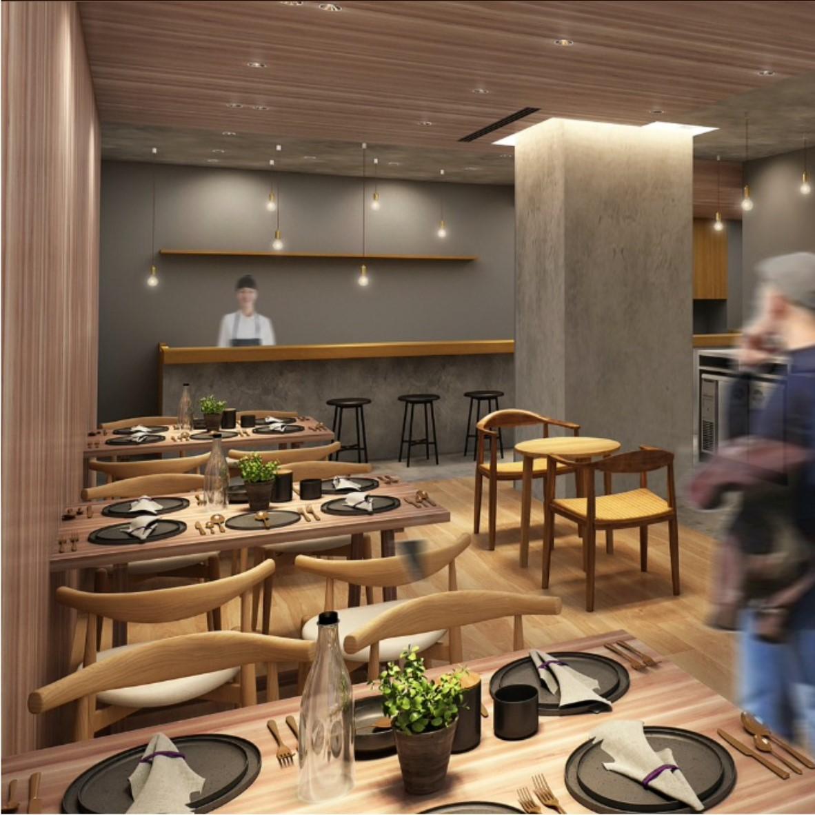 2021年今冬 オープン予定♪東北食材を使った料理、東北地方をコンセプトのダイニングカフェで接客☆