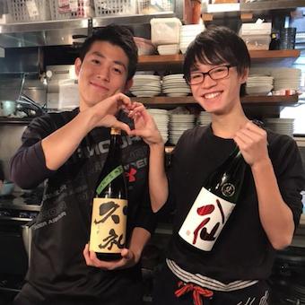 日本酒や焼酎などお酒の扱いもこだわります!詳しくなれますよ!
