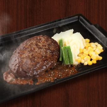 常に熱々で食べられるよう、鉄板の再加熱サービスをしています!