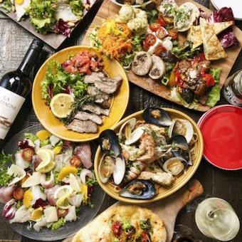 【料理長候補】その日仕入れた魚介をお客様好みの料理で提供するスパニッシュイタリアン(休日選択制)