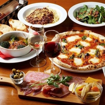 パスタや窯焼き料理など、和の要素を取り入れたイタリアンを作りましょう!