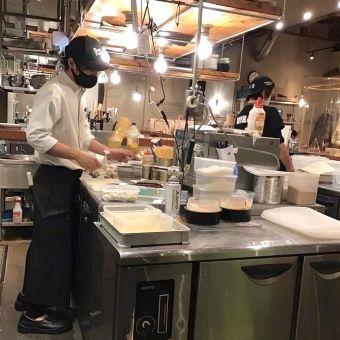 東武練馬駅で人気の創作イタリアンで調理のお仕事!月8日休み